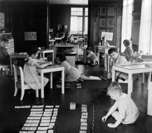klasa Montessori, początek XX-wieku